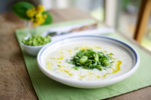 Yogurt & Fava Bean Soup